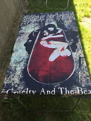Cradle of Filth Banner Poster Fahne Cruelty And The Beast