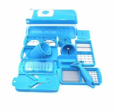 Nicer Dicer Plus Set 16tlg.inkl.Julietti Blau