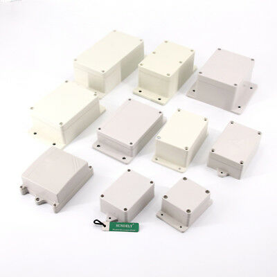 Size Select Plastic Electronic Project Junction Box Enclosure with Screws