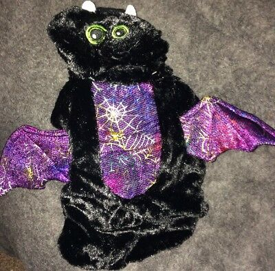 Dog Halloween Bat Outfit Dog Fancy Dress Xsmall