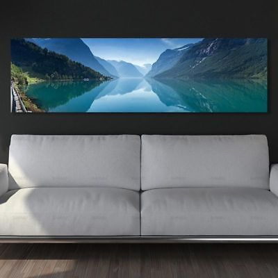 Frameless Canvas Painting Wall Art Picture Landscape Wall Painting Home Decor