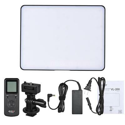 Viltrox VL-200 PRO CRI95+ Dimmable Studio LED Video Light Panel for Canon Nikon