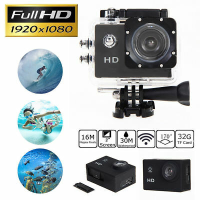 "2.0"" HD 1080P Portable Outdoor Sports Action Waterproof Camera Mini DV SJ4000"