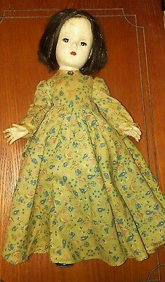 """Vintage 1940's-1950's Madam Alexander Marme from """"Little Women"""" 14 """" Doll"""