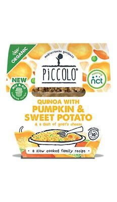 Piccolo Organic Quinoa with Pumpkin & Goats Cheese (Pack of 6)