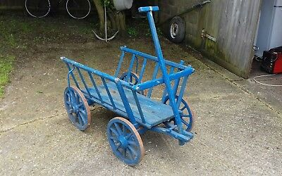 Lovely Old Vintage Dog Cart