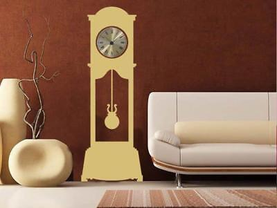 Grandfather Clock Wall Sticker Wall Chick Decal Art Sticker Quote