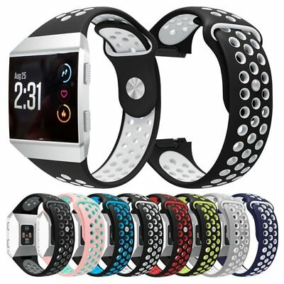 For Fitbit Ionic Strap Silicone Sports Replacement Band
