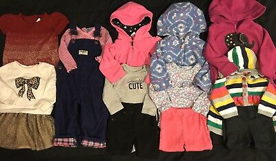 Baby Girl 12 Months Clothes Lot. Fall Winter Outfits. Gymboree *FREE SHIPPING*