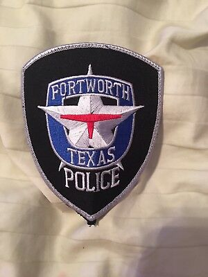 Fort Worth Police Patch Lot