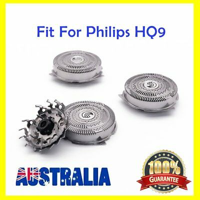 3 pcs Shaver Razor Blades Shaving Heads Replacement For Philips HQ9 FN