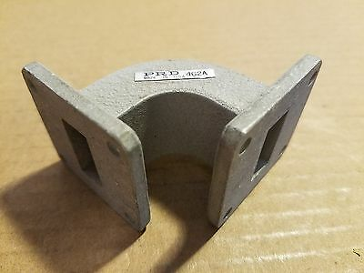 Polytechnic R&D PRD 462A X-Band Right Angle RF Microwave Waveguide 90-Deg Elbow