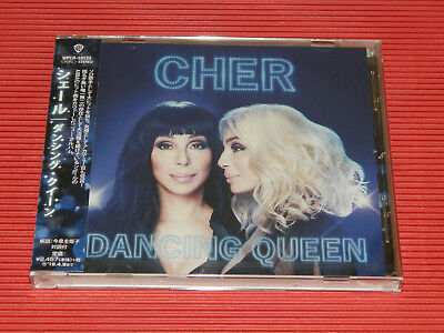 2018 Japan Cd Cher Dancing Queen Abba Cover Album