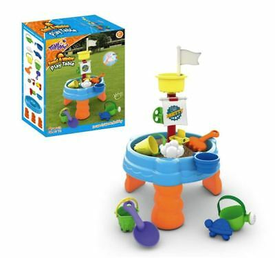 Childrens Kids Toddler Sand and Water Play Table Activity Toy Garden Sandpit UK