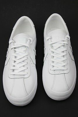 2e57605c77cf Unisex Converse All Star Breakpoint Ox Chuck Taylor White Leather Sneaker Sz  10M