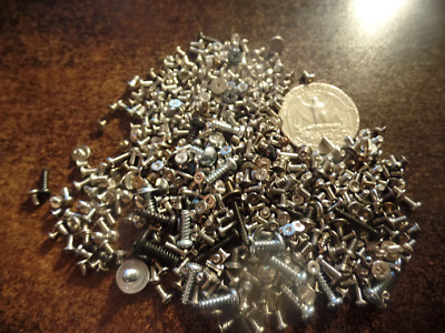 Lot of 2 oz of Misc Laptop Hard Drive Screws Tork T4 T5 Various Others Tiny