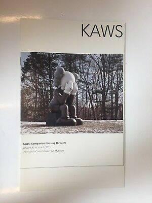 KAWS exhibition brochure The Aldrich Museum Companion Passing Through 2011