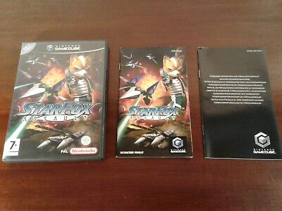 Nintendo gamecube star fox assault NO GAME game cube NO DISC  good condition