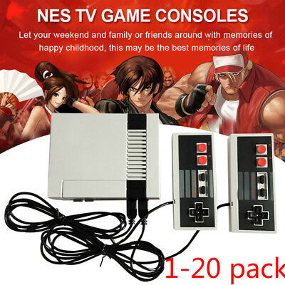 Mini Video TV Game Console 620 Builtin Nintendo Games with 2 Controller Set Lot