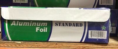 "NEW 12"" x 1000' Food Service STANDARD Aluminum Foil Roll Wrap Commercial Case"