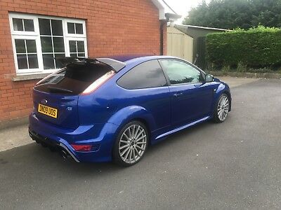 Ford Focus Rs lux pack 1 and 2 , black recaros , reverse camera