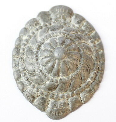 Beautiful Grey Metal Horse Application Medieval Or Post Medieval # 20A