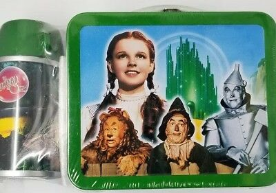 Limited Edition Hallmark School Days Wizard of Oz Lunchbox W/ Thermos - Sealed