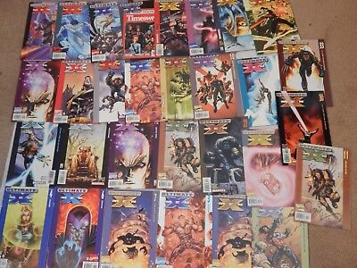 Ultimate X-Men Lot Of 30 Marvel Modern Age Comic Book Lot FN
