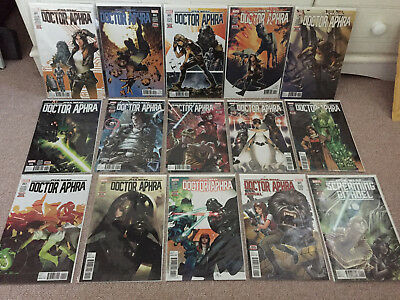 Marvel Star Wars Doctor Aphra Comics #1 - #13 Complete 1st Prints + Annual NM