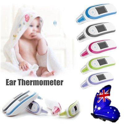 New Baby Body Care Non-Contact Forehead Infrared Medical Digital Thermometer AU