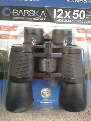 New Binoculars Barska Colorado Series 12X50 Mm Wide Field Of View Wide Angle Nwt