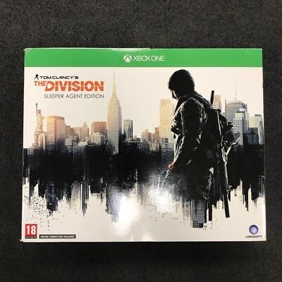 NEW Tom Clancy's the division Sleeper Agent Edition XBOX Collector Box w. Watch