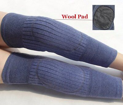 Heater Knee Warmer Sleeves Kneecap Wool Leg Sleeve Winter Warm Thermal Heating ~