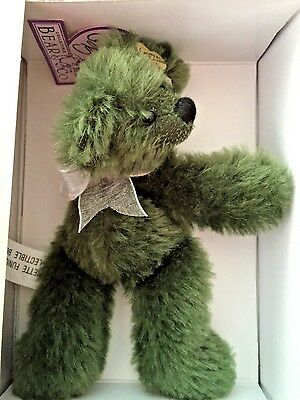 Bears Nice Annette Funicello Razzbeary Blizzard Mohair Bear Bean Bag Collection Dolls & Bears