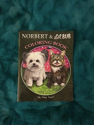 Norbert & Lil Bub Coloring Book / Polly Parker Press 2015 (LilBub.com) SOLD OUT!