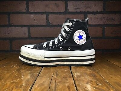Shoes Tall Vintage Usa Converse All Sneakers Star Wedge 1990s Hi Top rxBoedC