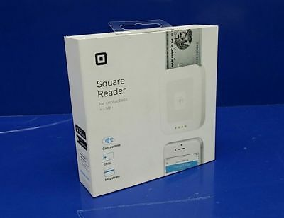 Square Contactless Credit Card Chip & Magstripe Reader -NEW