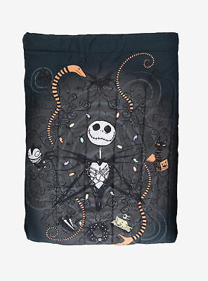 The Nightmare Before Christmas Jack Snakes Full/queen Comforter