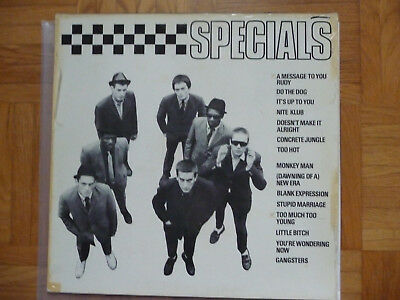 Lp Vinyl Schallplatte The Specials / Same / Ska