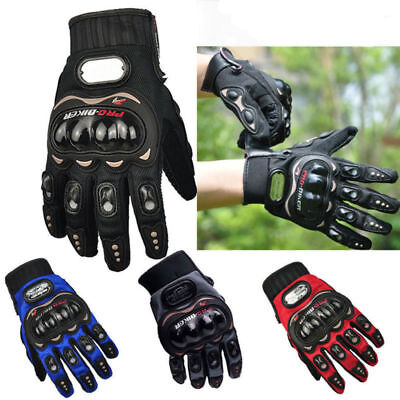 Summer Motorcycle Motorbike Waterproof Gloves Armoured Knuckle Extra Protection