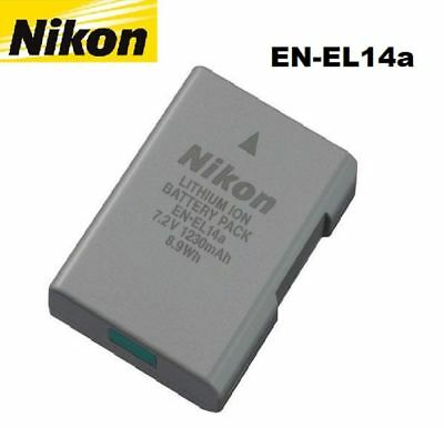 OEM EN-EL14A Camera Battery For Nikon D3100 D3200 D3300 D3400 D5200 D5300 D5500