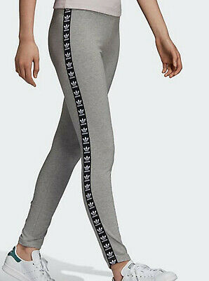 50fd313d97c5f ADIDAS ORIGINALS WOMENS tape leggings grey DN8407 sizes UK 12-16 gym new -  EUR 36,45 | PicClick IT