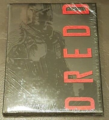 JOCK signed DREDD the Illustrated Movie Script limited hardcover (500 copies) HC
