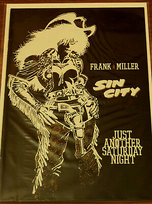 Frank Miller Sin City: Just Another Saturday Night One-Shot 1998 Nm-