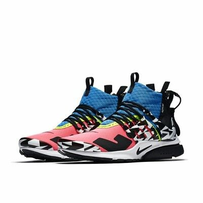 new arrival 38ac7 06490 Nike Air Presto Mid Sp X Acronym Racer Pink Us 8 Ah7832-600