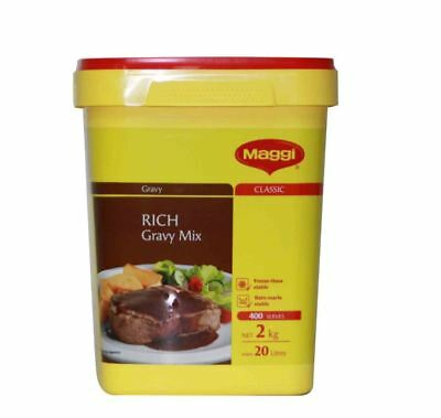 Maggi Classic Rich Gravy Mix 2kg x 3 (Bulk Buy) BB JUNE 2019