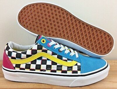 VANS JOURNEYS OLD SKOOL CRAZY CHECK CMYK CHEX 8 MULTICOLOR golf wang van  gogh lx 5e01c0896