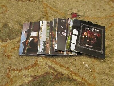 Lot of (33) 2004 Artbox Harry Potter Cards