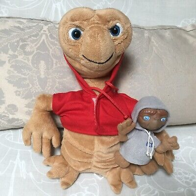 E.T. The Extra Terrestrial ~ ET Soft Toys x 2
