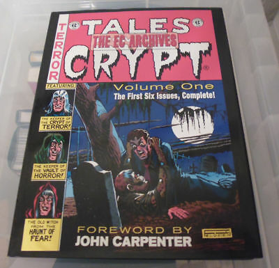 EC Archives: Tales From The Crypt Volume 1 Hardcover 2007